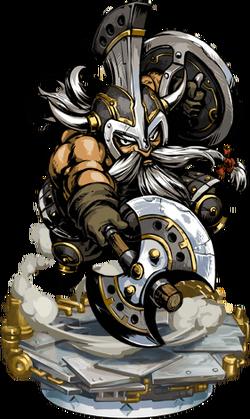 Dwarven Axeman + Figure