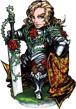 Sir Bedwyr of the Rose Figure