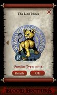 The Lion Prince (pact)