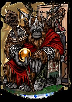 Arcanan Emperor Figure
