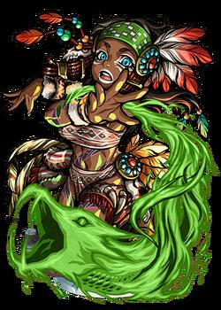 Hina, Flame Conjurer II Figure