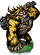 Ape Berserker II + Figure