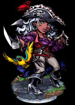 Anne, Pirate Navigator II Figure