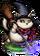 Cat Sith Snow Sorcerer II Figure