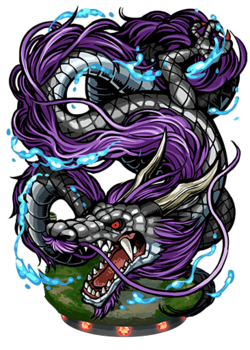 Hei Long, Black Dragon Figure