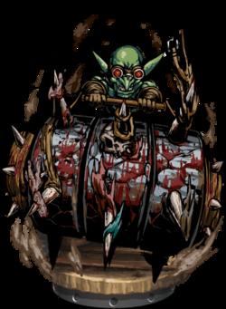 Goblin Spikeroller Figure