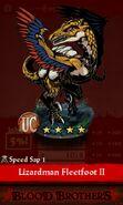 Lizardman Fleetfoot II (evolution reveal)