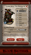 Goblin Hero The Younger II base stats