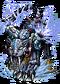 Brass Snow-Leopard II Figure