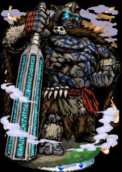 Grandor, Giant of Old Figure