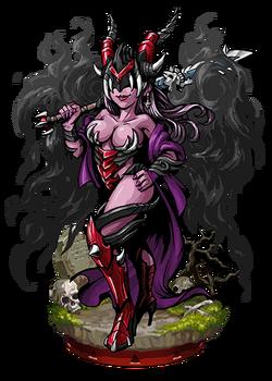 Taromaiti, Depraved Queen Figure