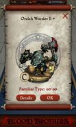 Orcish Warrior II plus (pact)