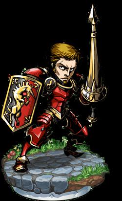 Heavy Lancer II Figure