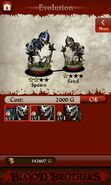Skeleton Warrior II (evolution)