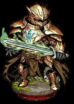 Sigiled Ghost Armor II Figure