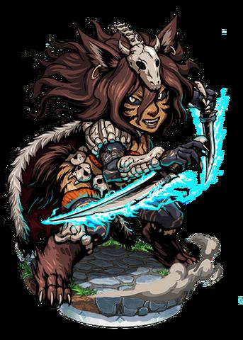 File:Asena, Wolfwoman II Figure.png