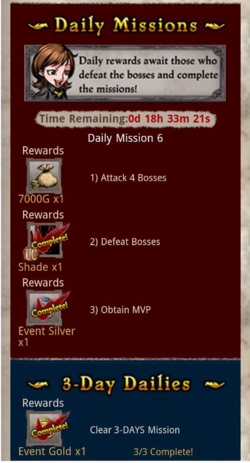 The Band of Blood Daily Mission