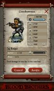 Crossbowman (full stats)