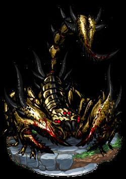 Killer Scorpion II + Figure