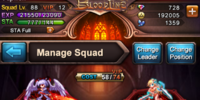 Hero Manage Squad