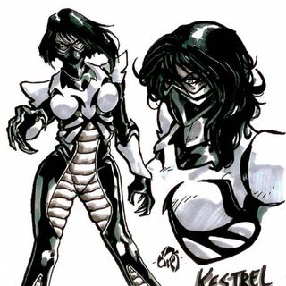Kestrel in the comic book series