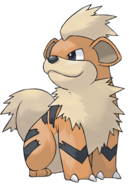 Blue's Growlithe