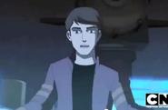 Ben wearing rex's jacket