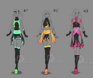 More glowing dresses sold by nahemii san-d7kvae7