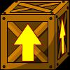 Arrow Crate - Wood
