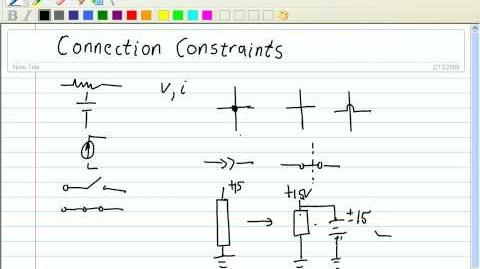 DC Circuit Analysis - Kirchoff's Voltage Law (KVL), Kirchoff's Current Law (KCL), & Ohm's Law (Pt 1)