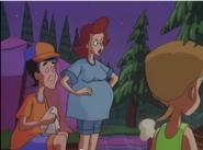 Pregnant Martha