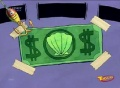 Primer dolar de don cangrejo en su trasero.jpg