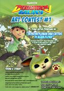 BoBoiBoy Galaxy Art Contest 1