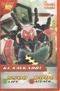 Klamkabot Choki-choki card