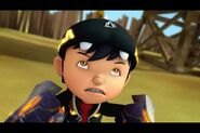 Boboiboy earthquake