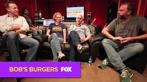 BOB'S BURGERS Behind BOB'S BURGERS LIVE - Episode 3 ANIMATION on FOX