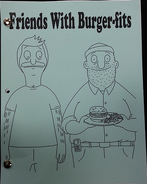 Friends With Burger-fits