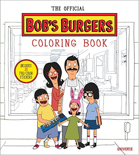 The Bobs Burgers Adult Coloring Book