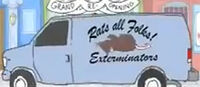 Bobs-Burgers-Wiki Exterminator-Truck Demo