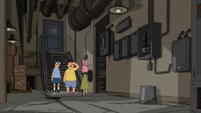 File:S5E01.054 Tina, Gene, and Louise in the Boiler Room.png