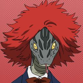 Habuko Mongoose Anime Portrait