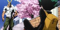 Toshinori Yagi/Synopsis