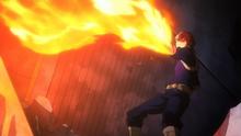Shoto fire attack vs Stain