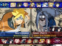 Tenkaichi Storm Match Up