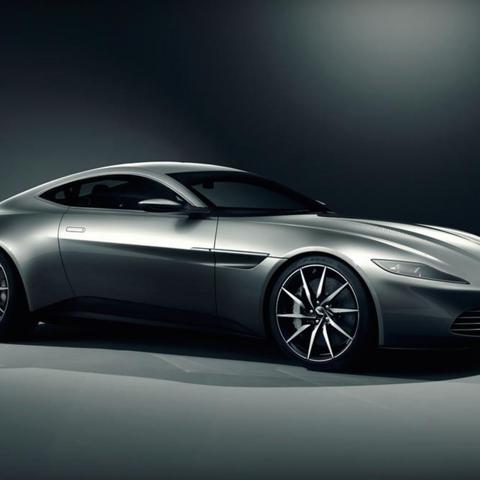 Exklusiver Aston Martin für den neuen James Bond Spectre