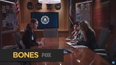 """BONES Sharp Shooter from """"The Loyalty in the Lie"""" FOX BROADCASTING"""