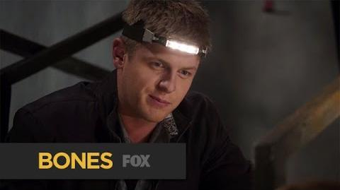 "Wendell Rejoins the Team from ""The Corpse At The Convention"" BONES FOX BROADCASTING"