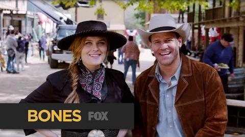 BONES Mosey On Over Free Takes FOX BROADCASTING