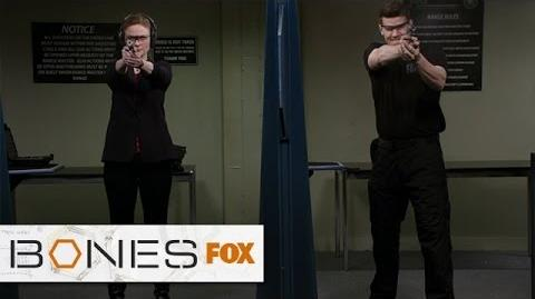 """Target Practice from """"The High In The Low"""" BONES FOX BROADCASTING"""