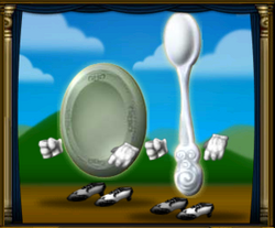 Dish AND Spoon